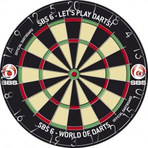 SBS Darts game